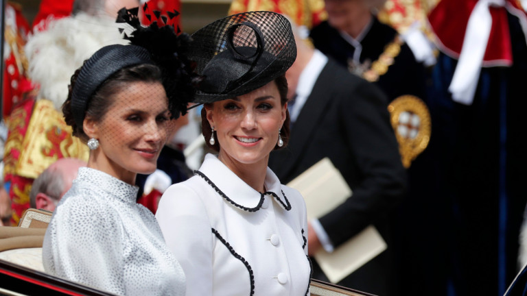 Кейт Мидълтън срещу кралица Летисия