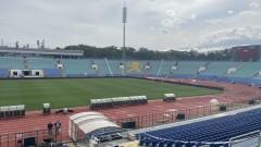 "Стадион ""Васил Левски"" е готов за мача България - Унгария"
