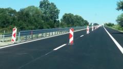 """До 23 април движението от 106-ти до 119-ти км на АМ """"Тракия"""" към Бургас е в една лента"""
