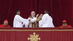 Папата призова оръжията в Сирия да замлъкнат завинаги