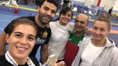 Женският национален отбор по борба с второ място на силен турнир във Франция