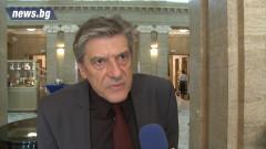 Не е възможен кабинет без ГЕРБ, убеден Антоний Гълъбов
