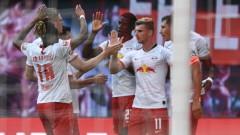 РБ Лайпциг победи Айнтрахт с 2:1 в Бундеслигата