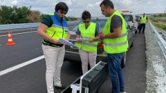 """АПИ: Маркировката в ремонтирания участък на АМ """"Тракия"""" е безопасна за движение"""