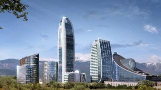 Докъде стигна изграждането на най-високата сграда в България? (видео)