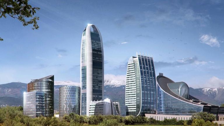 Снимка: Докъде стигна изграждането на най-високата сграда в България?