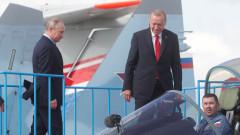 Путин и Ердоган заговориха за съвместно производство на военна техника