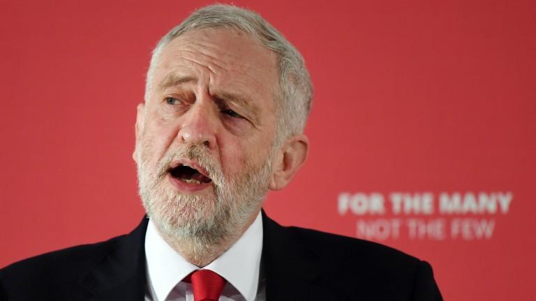 Лидерът на Лейбъристката партия Джереми Корбин обвини британското правителство, че
