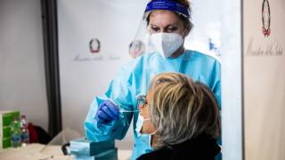Италия с нов рекорд на заразени за денонощие