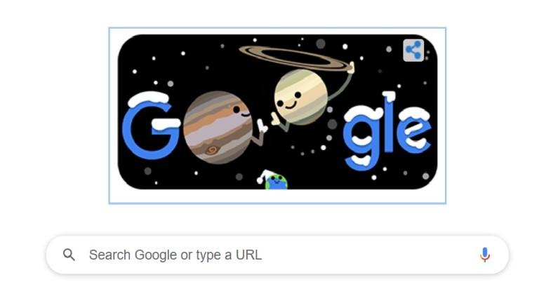 """""""Гугъл"""" пусна дудъл за астрономическата зима"""