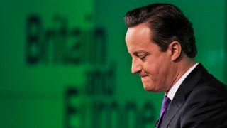 Дейвид Камерън: Не съжалявам за организирания референдум за ЕС