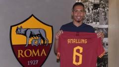 Крис Смолинг ще трябва да почака за дебюта за Рома