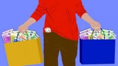 Половината от доходите на най-богатите българи - от трудов договор