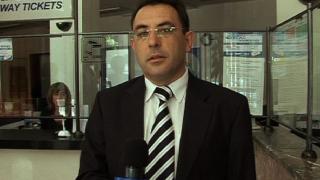Министърът на транспорта репортерства за Нова