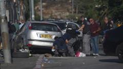 Палестинец се вряза с кола в полицейски пост в Йерусалим