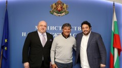 Красен Кралев се срещна с посланика на тенис турнира Sofia Open и първи треньор на Рафа Надал - Тони Надал
