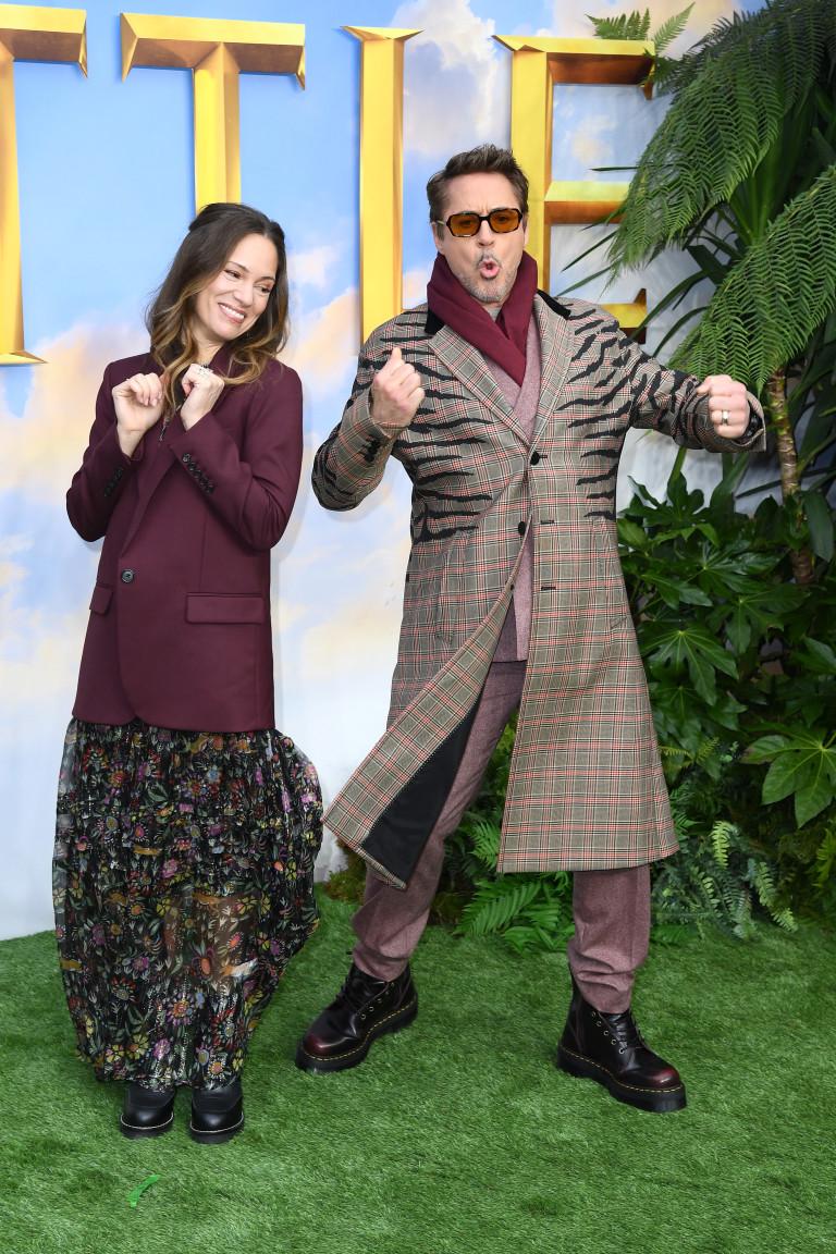 """Със Сюзън Дауни на премиерата на """"Дулитъл"""""""