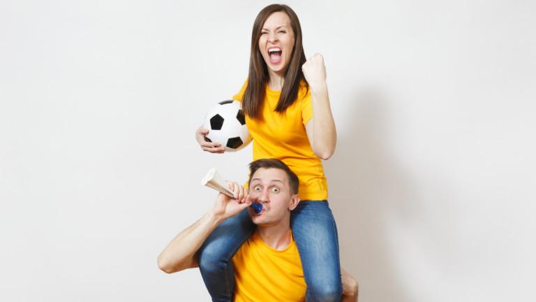 16% от българките ще гледат Световното по футбол