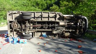 Мъж загина при верижна катастрофа на пътя за Банско