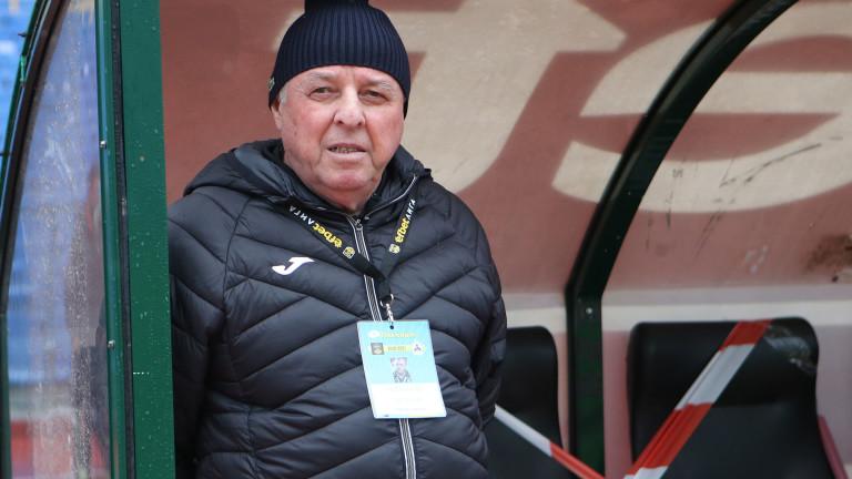 Новият старши-треньор на Славия Александър Тарханов сподели мнението си след