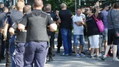Полицията не допуска автомобили в Борисовата градина