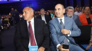 Борисов и Цветанов рамо до рамо на партийния форум