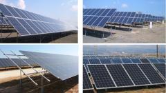 Китай строи най-голямата си соларна централа