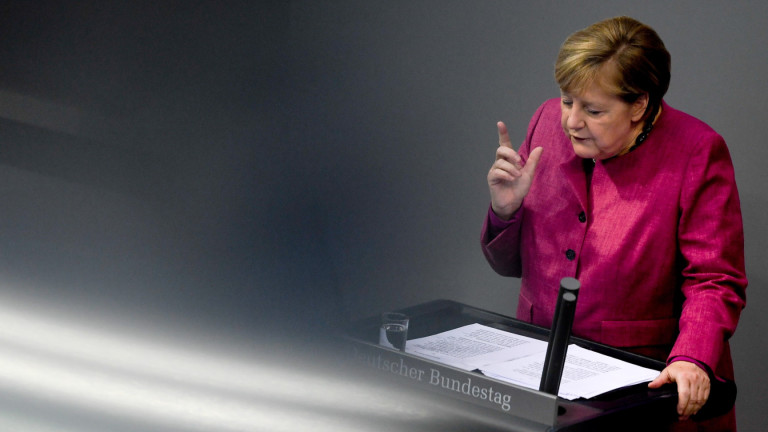 Германският канцлер Ангела Меркел изрази съболезнования във връзка с .