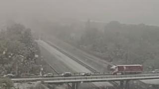 Обилен сняг хвърли Франция в хаос, мъж убит от дърво