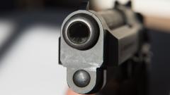 Мъж стреля с пистолет в София