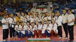 България отново в европейския елит по таекуондо