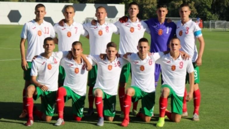 Словакия победи България с 4:2 в контрола при 16-годишните