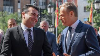 Македония очаква скоро да си осигури дата за старт на преговорите с ЕС