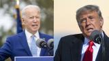 Исторически избори в САЩ: Байдън води