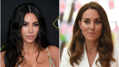 Когато Ким Кардашиян се сравнява с Кейт Мидълтън
