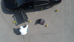 Прокуратурата разследва обира на инкасо автомобил в Плевен