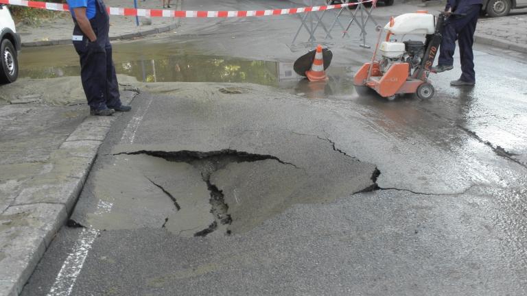 Част от Велинград отново е без вода заради авария