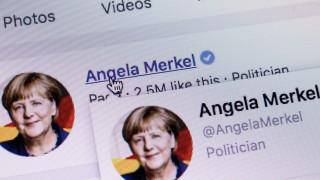 Меркел закрива страницата си във Facebook