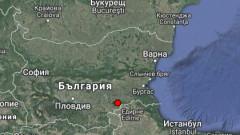 Лек трус в Тополовград