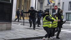 """Над 50 пострадали при протестите на """"жълтите жилетки"""" в Париж"""