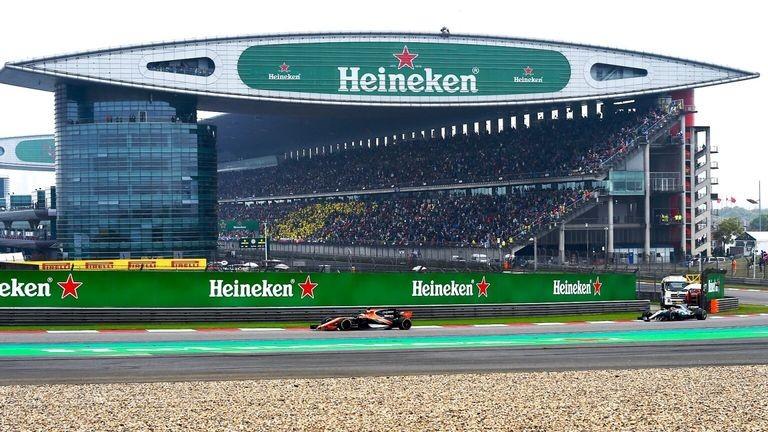 Heineken за втори път ще е основен спонсор на състезанието от Формула 1 в Китай