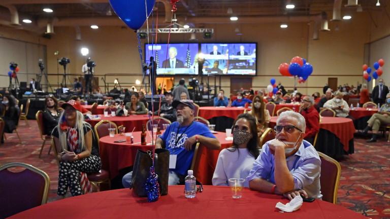 Байдън дръпна в Невада с 20 000 гласа