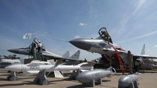 Русия извършила над 30 въздушни удара по бунтовниците в Сирия