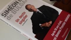 Симеон Сакскобургготски представи мемоарната си книга в престижния парижки клуб Жокей