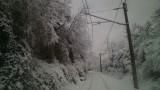 Снегът спря влакове и в Габровско