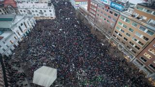 Десетки хиляди в Словакия на протест срещу правителството и корупцията