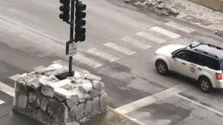 Американец си построи иглу в Чикаго