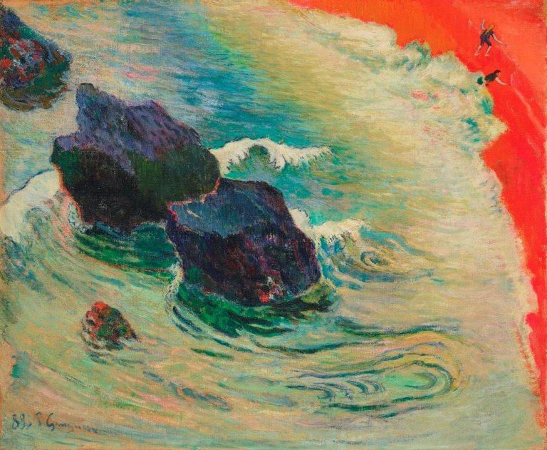 """Сред творбите в колекцията е """"Вълната"""" на Пол Гоген"""