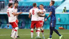 Полша - Словакия, Шкриняр отбеляза