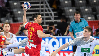 Македония измъкна равен срещу Германия на европейското по хандбал